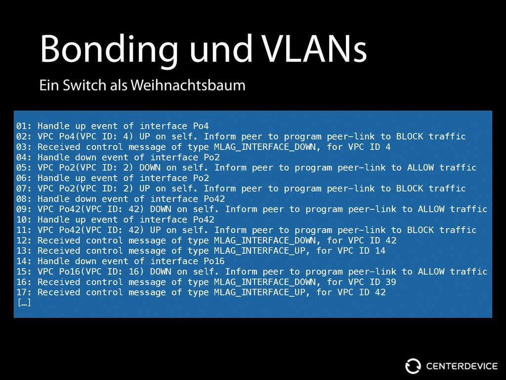 Bonding und VLANs Ein Switch als Weihnachtsbaum...