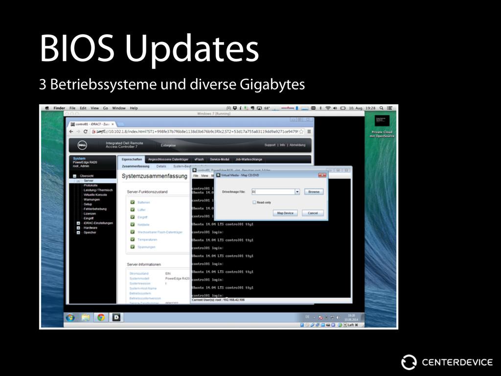 BIOS Updates 3 Betriebssysteme und diverse Giga...