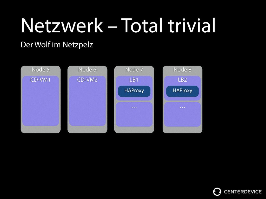 Netzwerk – Total trivial Node 5 CD-VM1 Node 6 C...