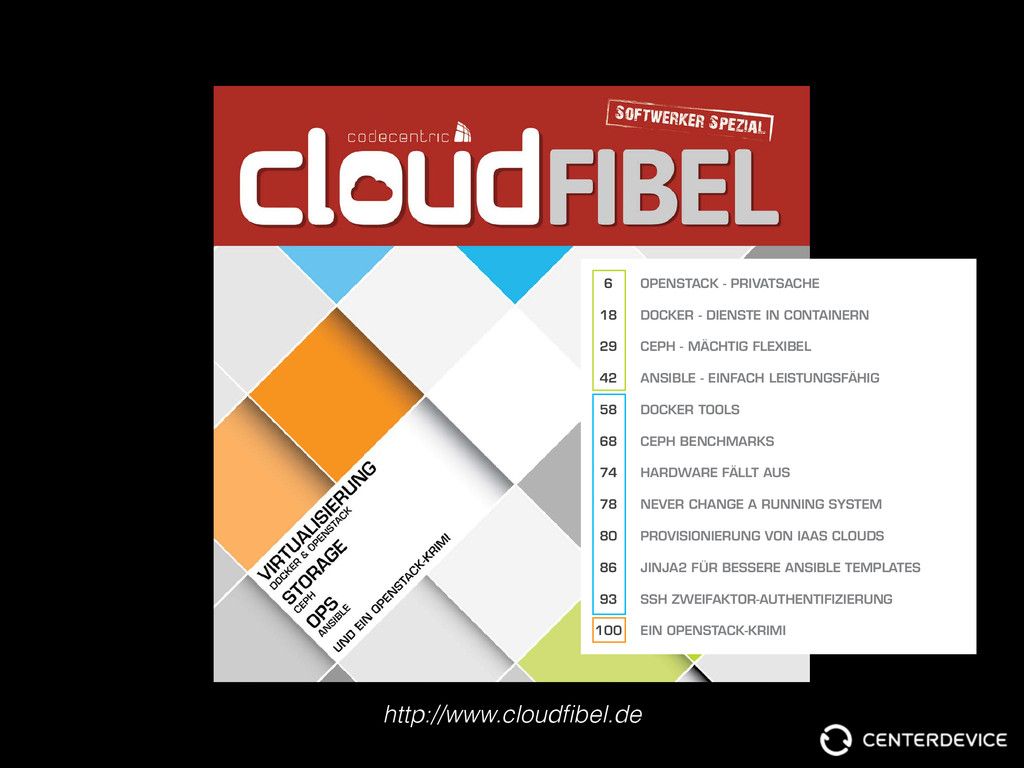 http://www.cloudfibel.de codecentric Cloud Fibel...