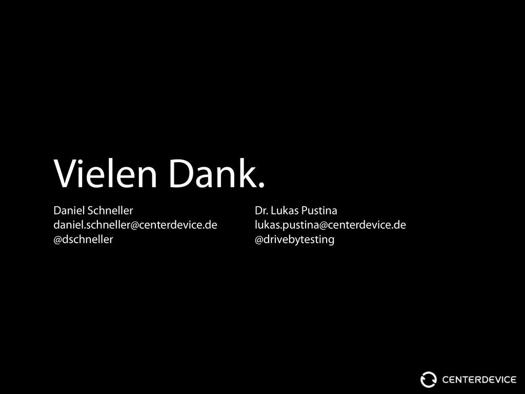 Vielen Dank. Daniel Schneller daniel.schneller@...