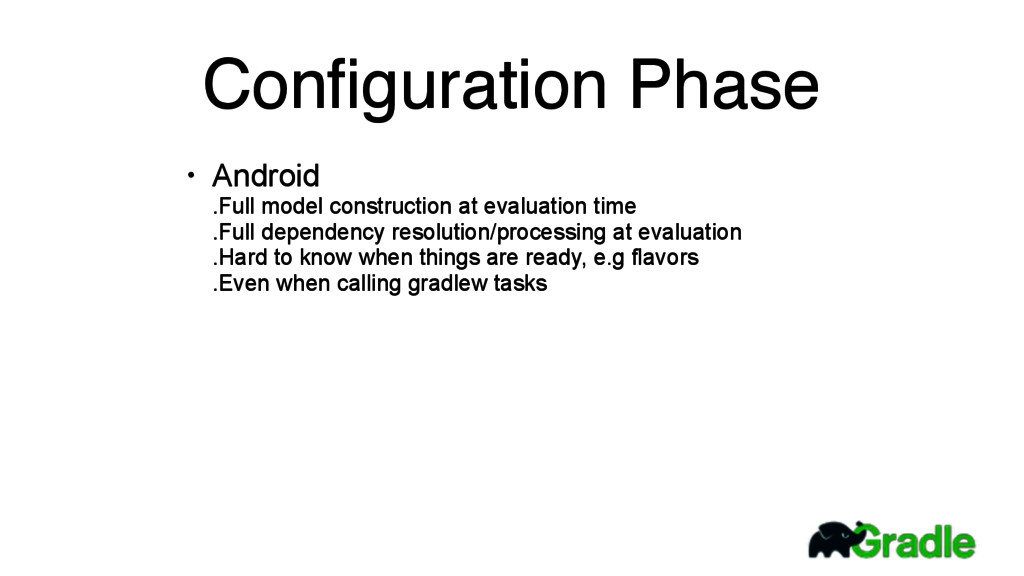 Configuration Phase • Android .Full model const...