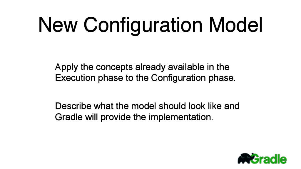 New Configuration Model Apply the concepts alrea...