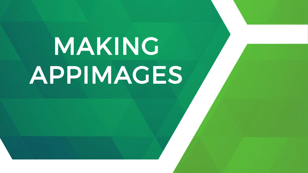 MAKING APPIMAGES