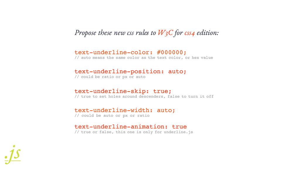 text-underline-color: #000000; // auto means th...