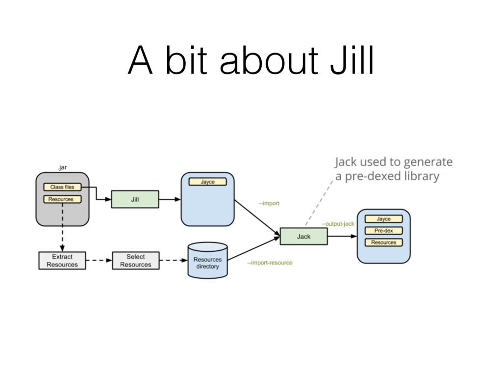 A bit about Jill