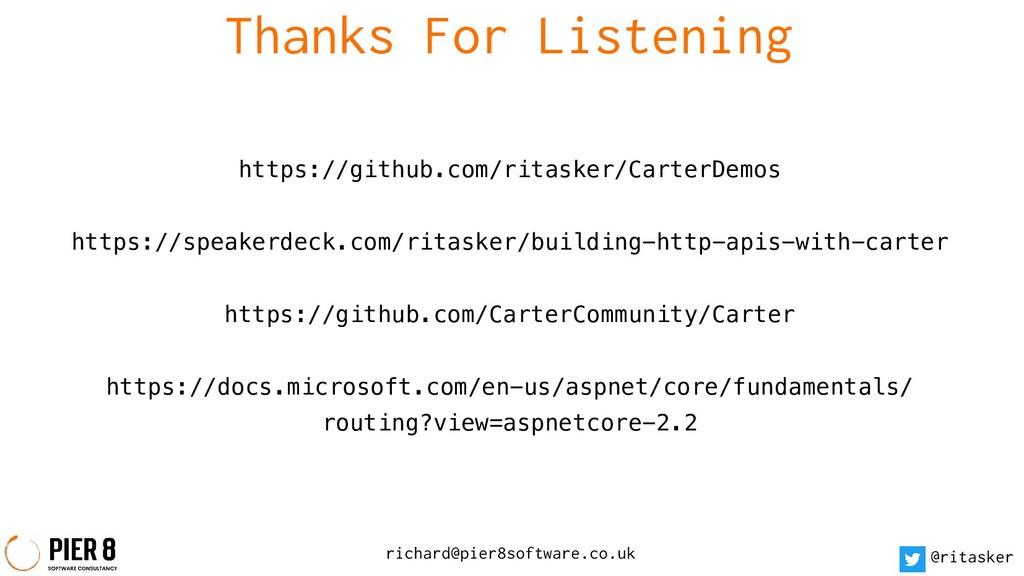 richard@pier8software.co.uk @ritasker Thanks Fo...