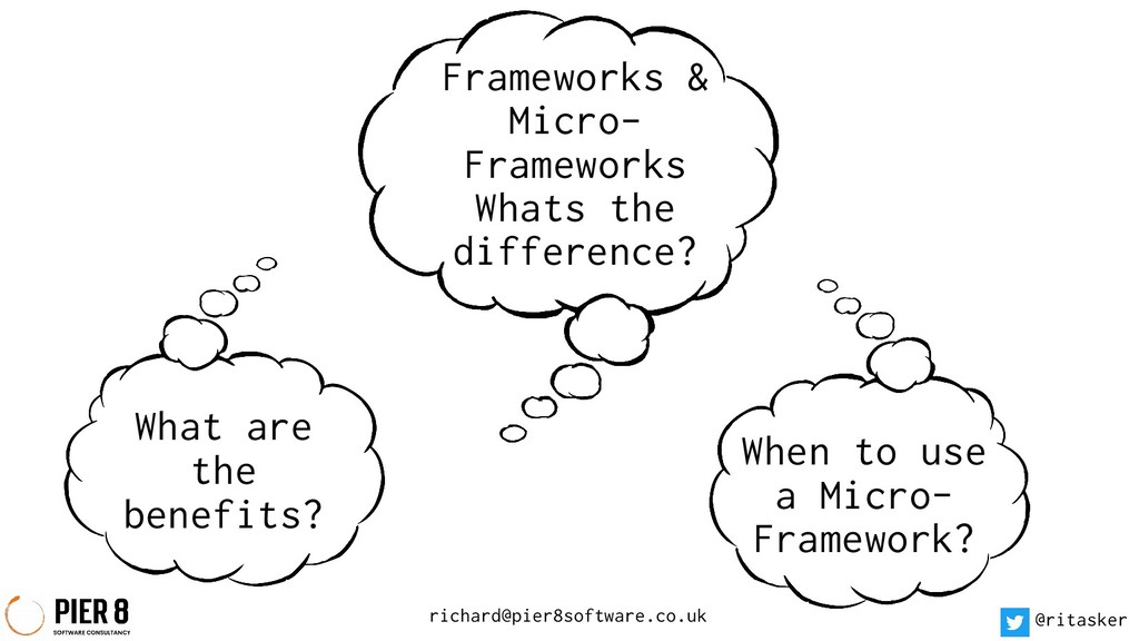 Frameworks & Micro- Frameworks Whats the differ...