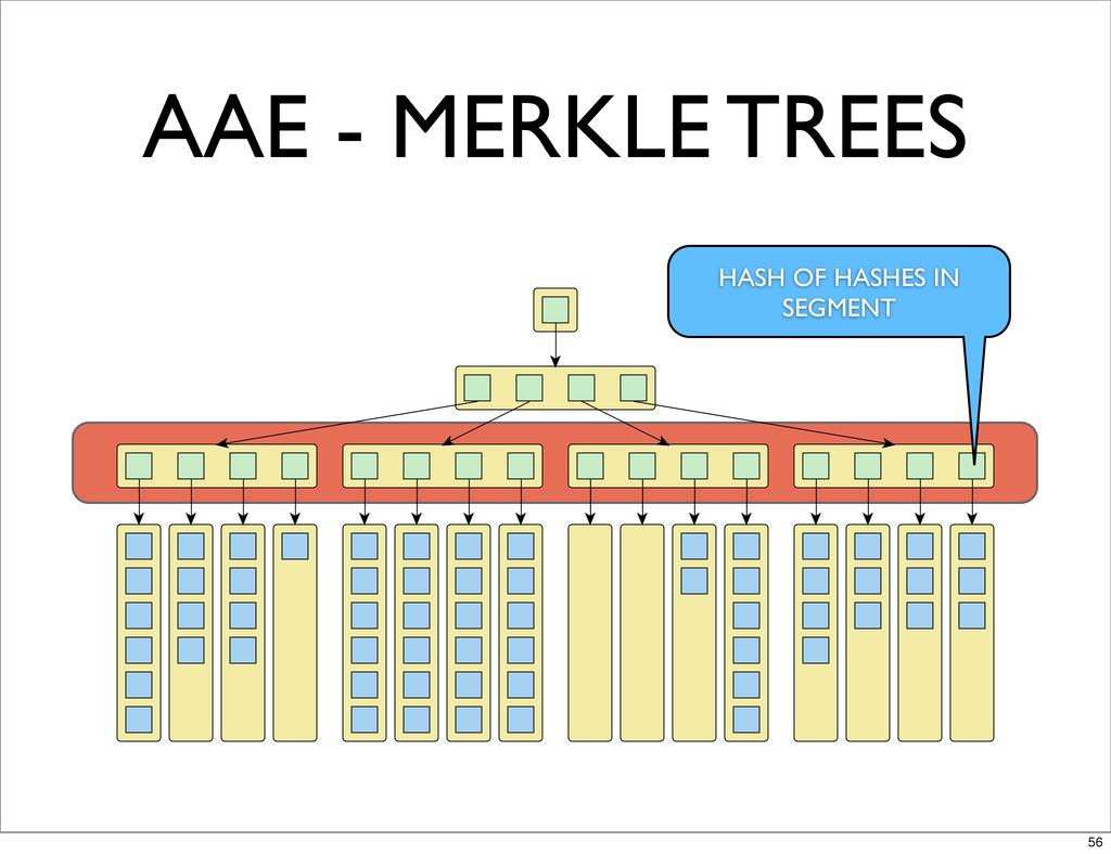 AAE - MERKLE TREES HASH OF HASHES IN SEGMENT 56