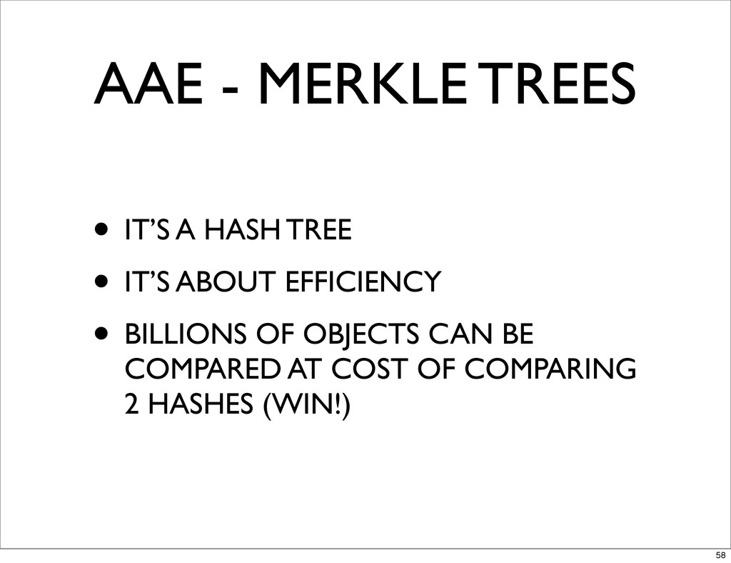 AAE - MERKLE TREES • IT'S A HASH TREE • IT'S AB...