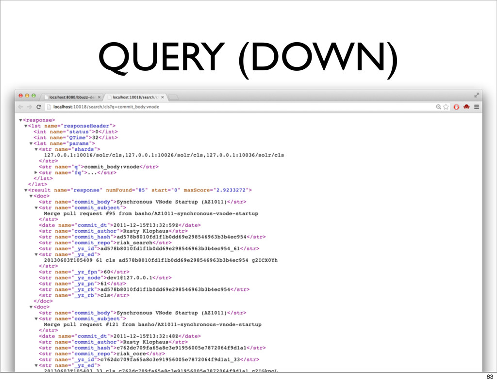 QUERY (DOWN) 83