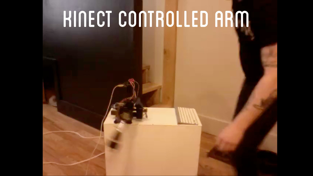 Kinect Controlled Arm