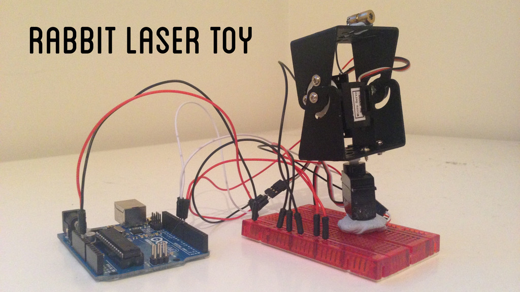 Rabbit Laser Toy