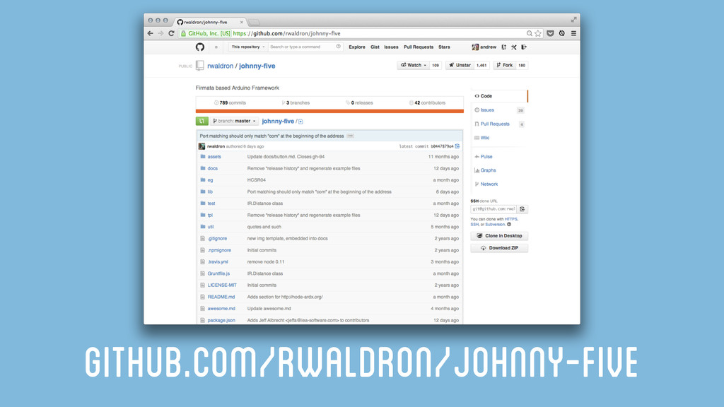github.com/rwaldron/johnny-five