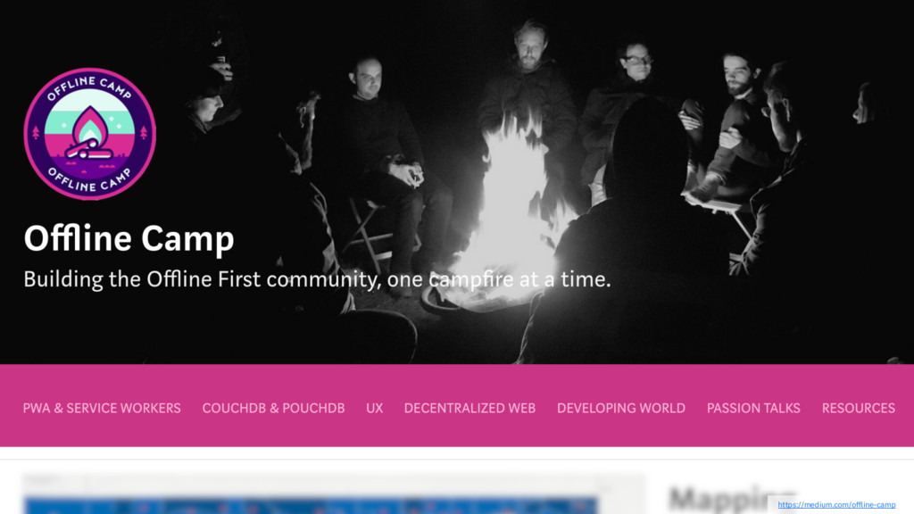 https://medium.com/offline-camp