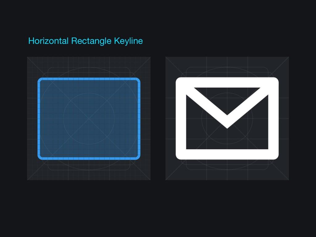 Horizontal Rectangle Keyline