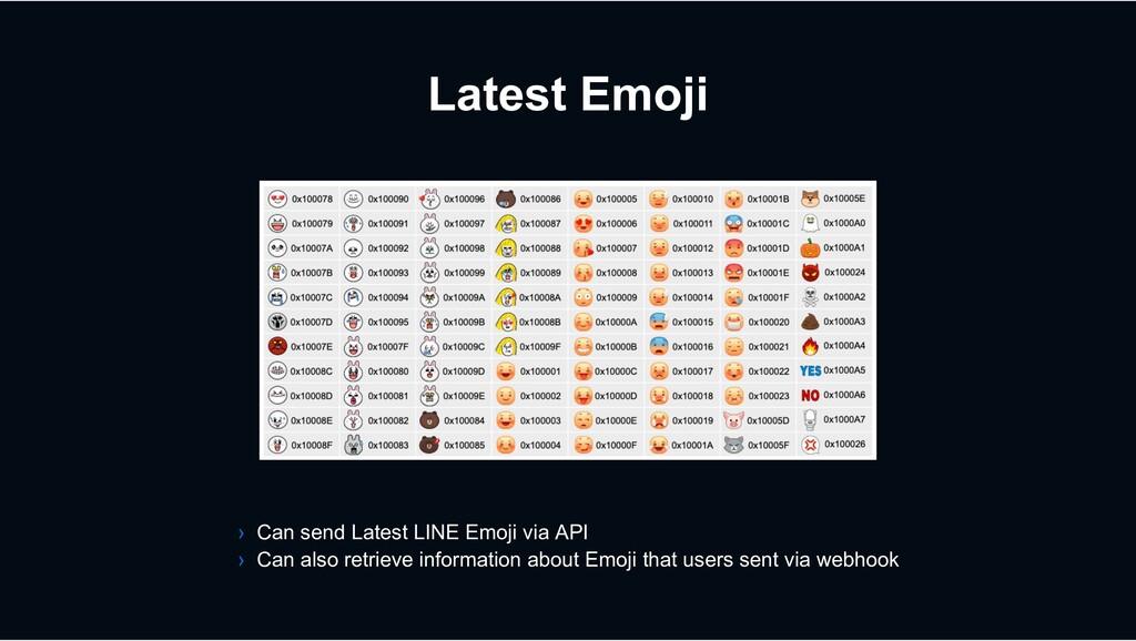 Latest Emoji › Can send Latest LINE Emoji via A...