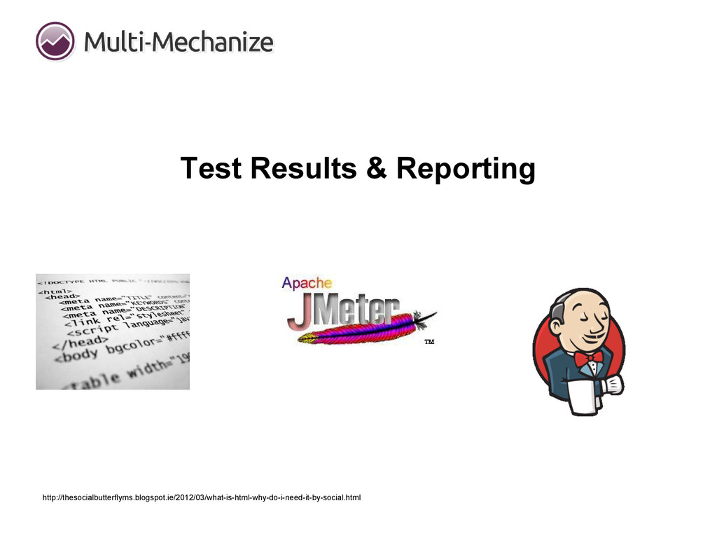 Test Results & Reporting http://thesocialbutter...
