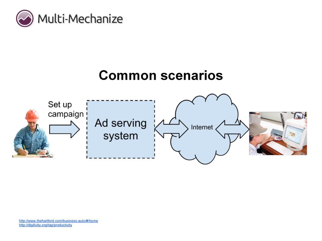 Common scenarios http://www.thehartford.com/bus...