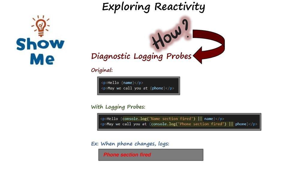 Diagnostic Logging Probes Original: With Loggin...