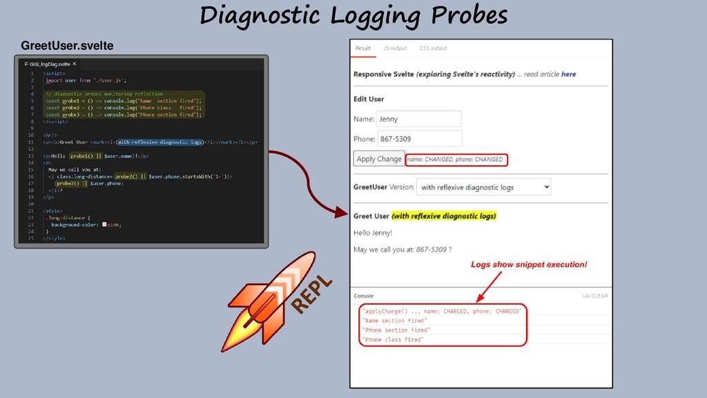 Diagnostic Logging Probes GreetUser.svelte