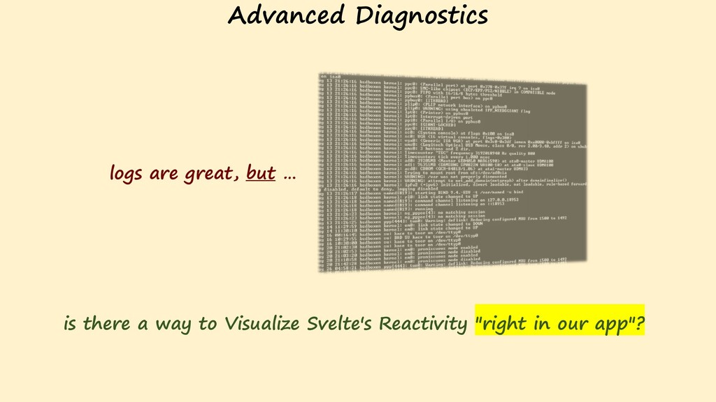 Advanced Diagnostics logs are great, but … is t...