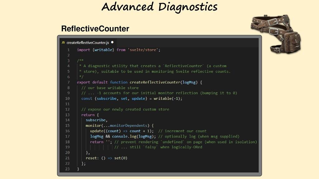 ReflectiveCounter Advanced Diagnostics