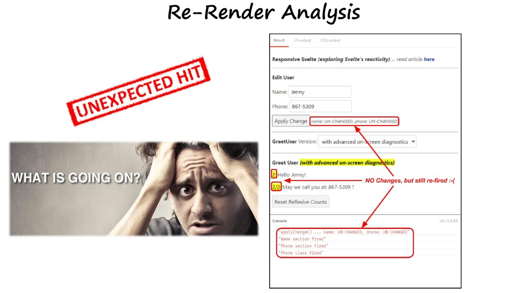 Re-Render Analysis