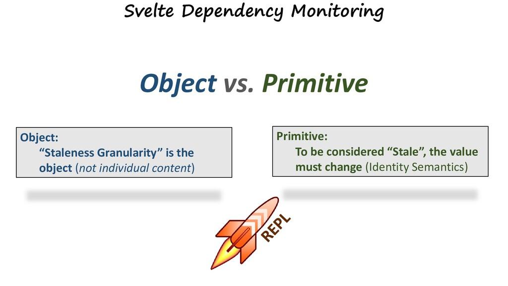 Svelte Dependency Monitoring Object vs. Primiti...