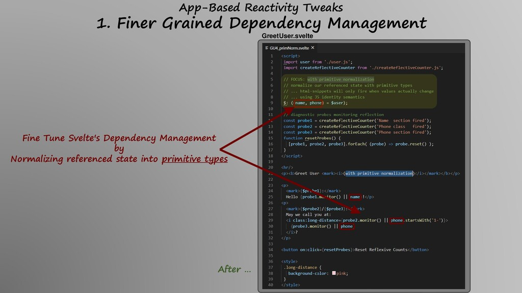 Fine Tune Svelte's Dependency Management by Nor...