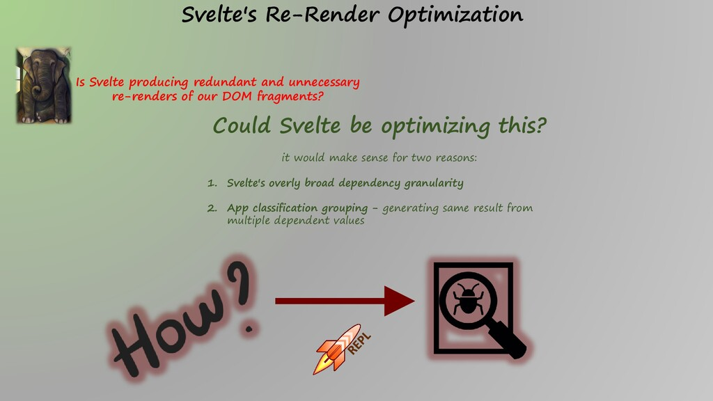 Is Svelte producing redundant and unnecessary r...
