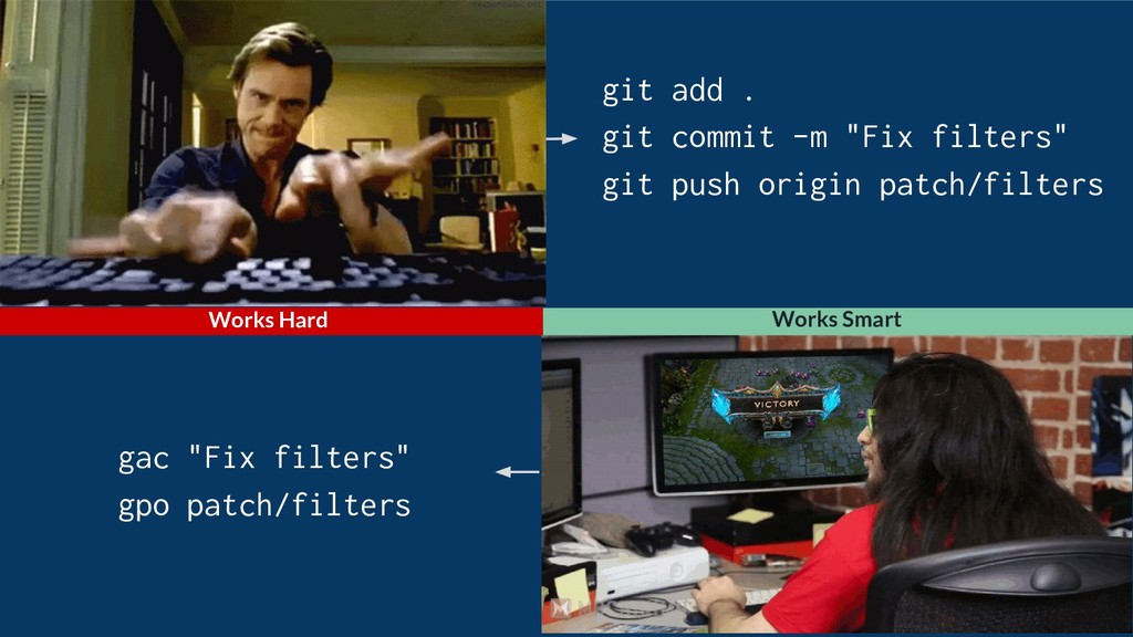 """gac """"Fix filters"""" gpo patch/filters git add . g..."""