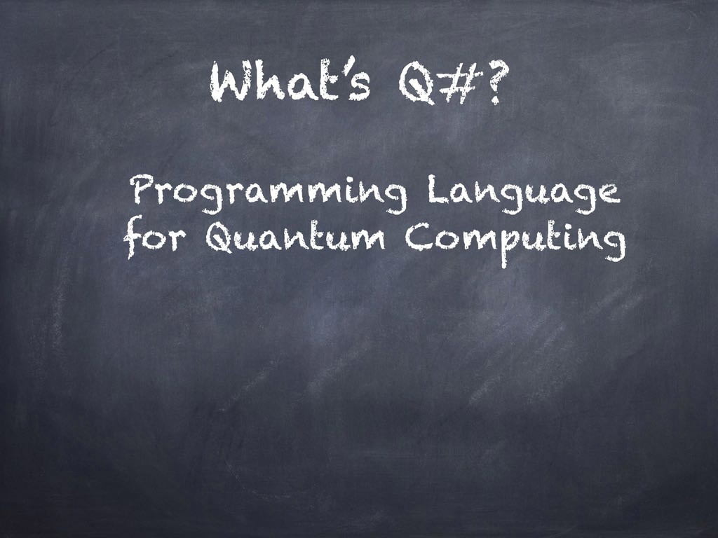 What's Q#? Programming Language