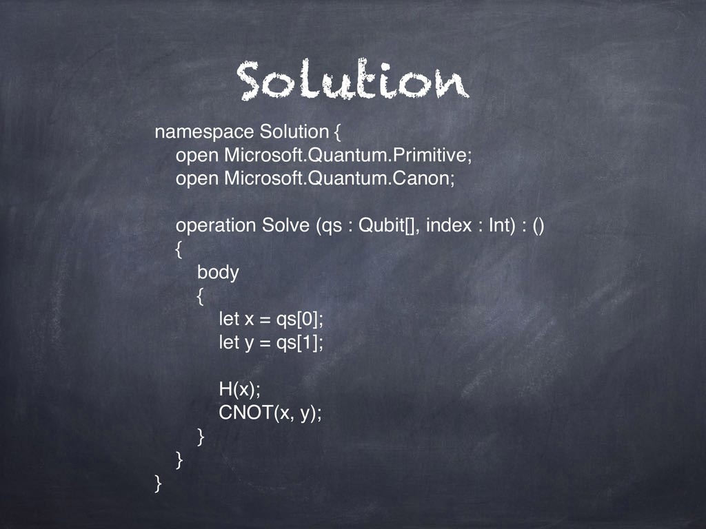 Solution namespace Solution { open Microsoft.Qu...