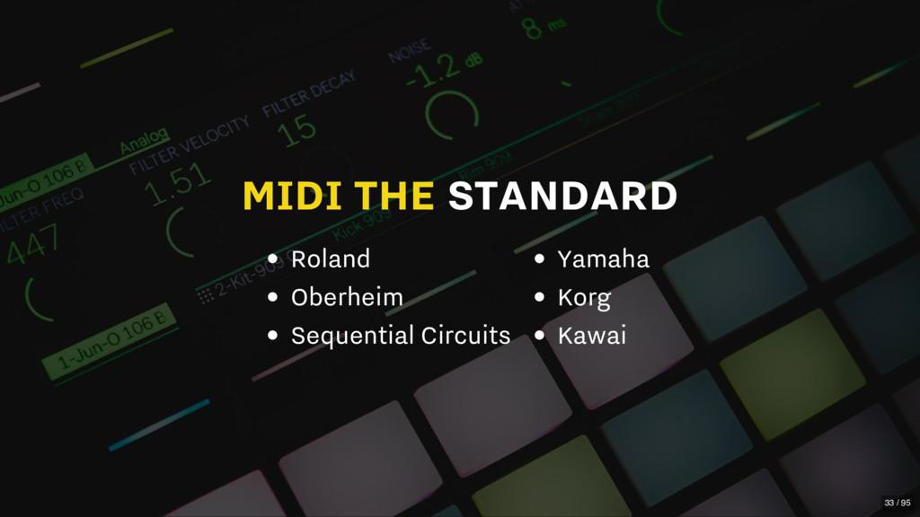 MIDI THE STANDARD Roland Oberheim Sequential Ci...