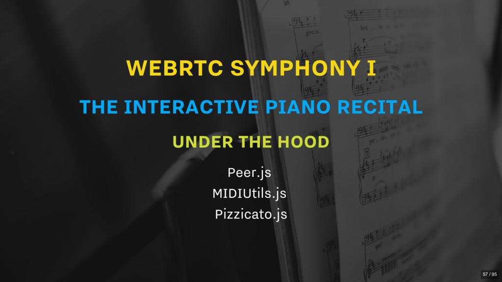 WEBRTC SYMPHONY I THE INTERACTIVE PIANO RECITAL...