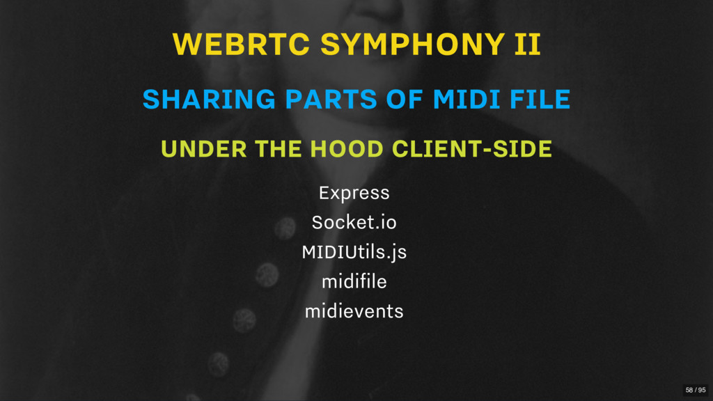 WEBRTC SYMPHONY II SHARING PARTS OF MIDI FILE U...