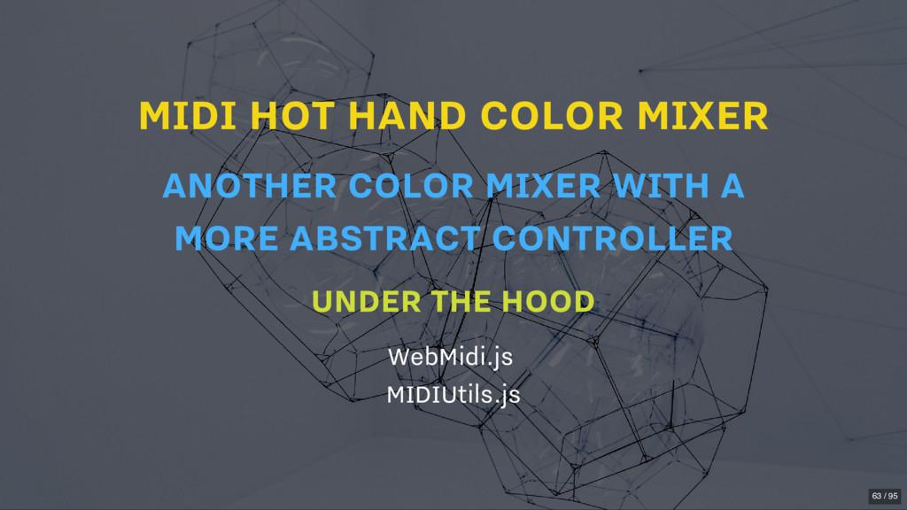 MIDI HOT HAND COLOR MIXER UNDER THE HOOD WebMid...
