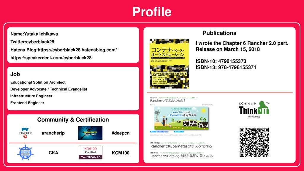 Profile Name:Yutaka Ichikawa Twitter:cyberblack...