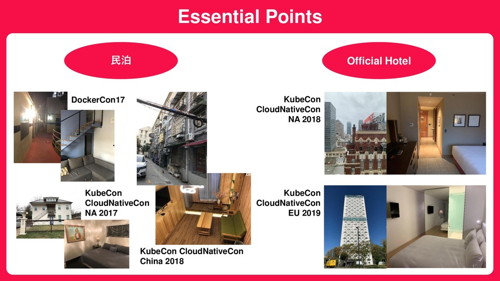 Essential Points 民泊 Official Hotel DockerCon17 ...