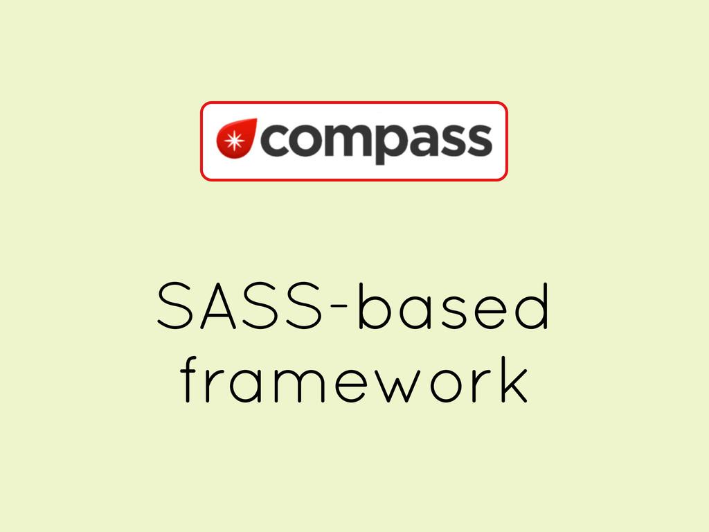 SASS-based framework