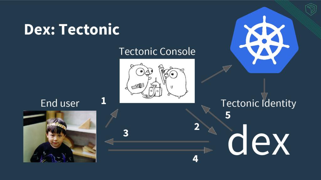 Dex: Tectonic Tectonic Console End user Tectoni...