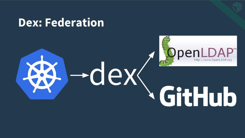 Dex: Federation dex