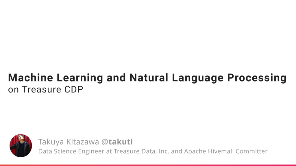 Machine Learning and Natural Language Processin...