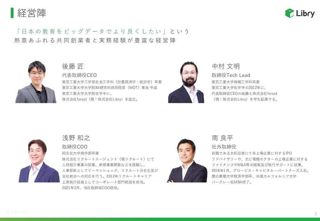 創業メンバー 東京工業大学情報工学科卒業。  学生時代に後藤のビジョンに深く共感し、  「絶対...