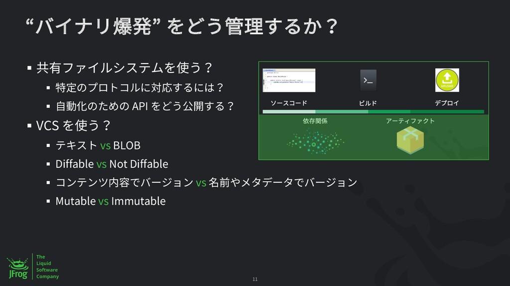 § § § API § VCS § vs BLOB § Diffable vs Not Dif...