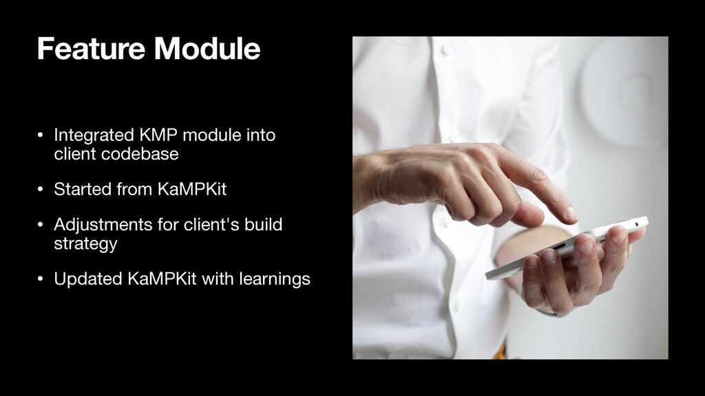 Feature Module • Integrated KMP module into cli...