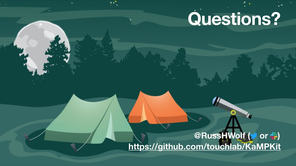 @RussHWolf ( or ) Questions? https://github.com...