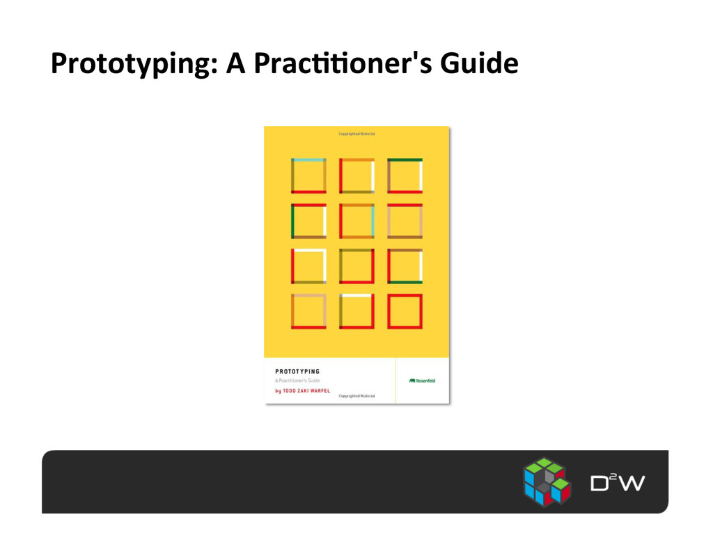 Prototyping:	
