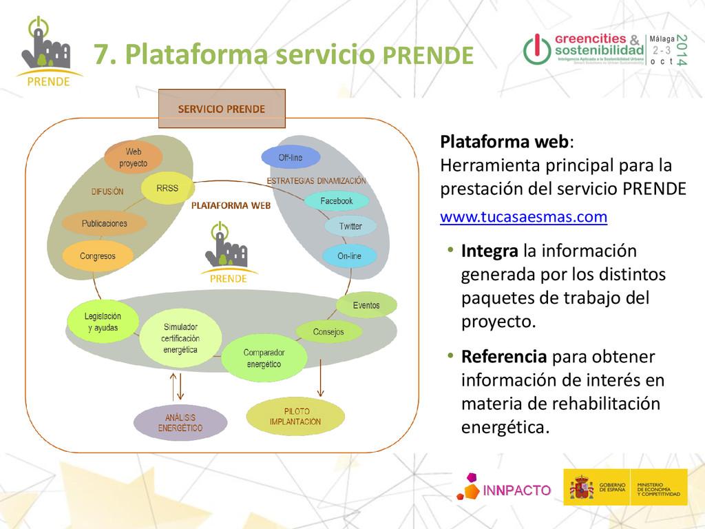 Plataforma web: Herramienta principal para la p...